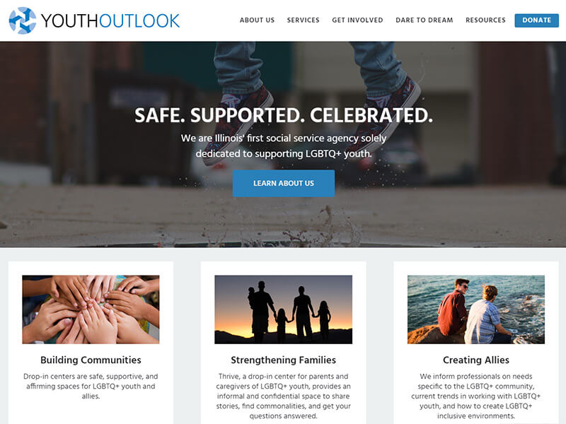 Youth Outlook Website Launch